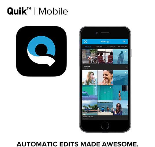 数タップでかっこいい動画が作れる GoPro Quik – iOS ipad iphone対応のアプリの解説・使い方