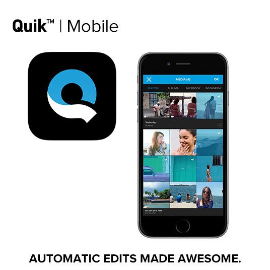 簡単!数タップでかっこいい動画が作れる GoPro Quikアプリの解説・使い方
