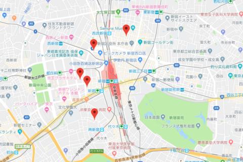Googleマップでjsonデータを読み込み地図上にマーカーを配置